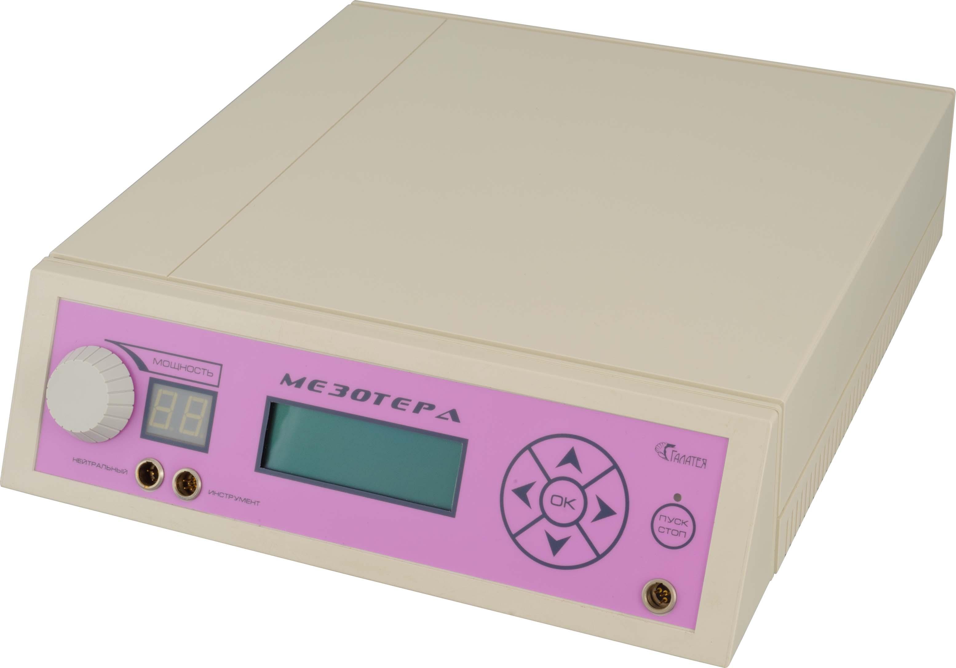 Аппарат короткоимпульсной электротерапии МЕЗОТЕРА «Галатея»