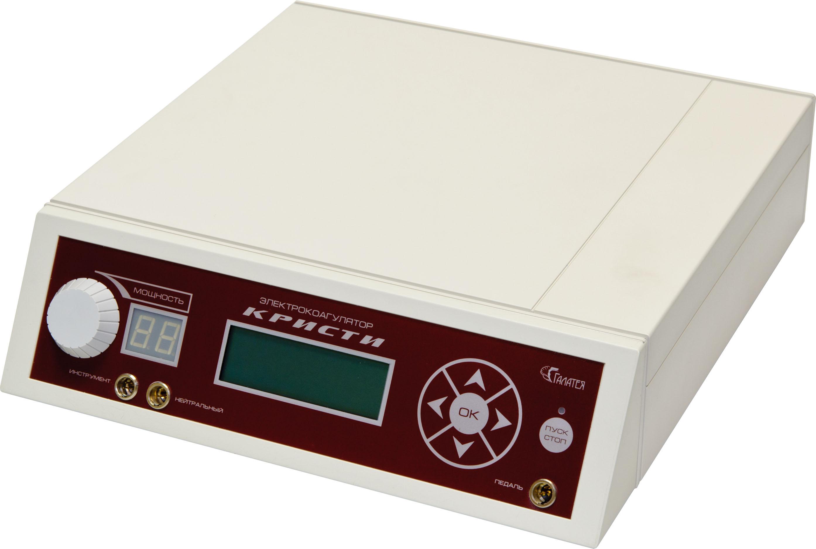 Аппарат для электрокоагуляции/электрокоагулятор КРИСТИ «Галатея»