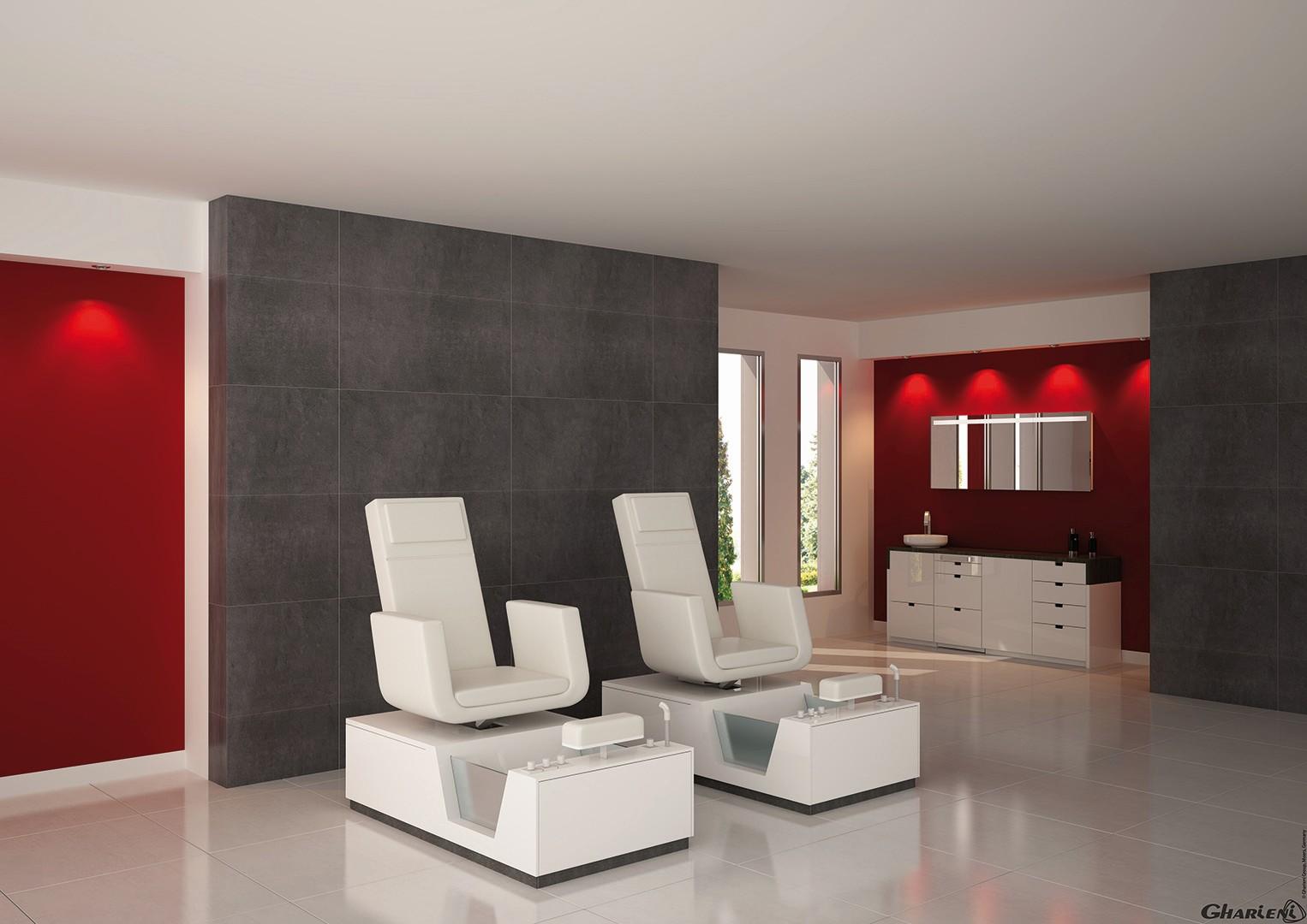 Педикюрное кресло Corian® Spa-Collection PediSPA