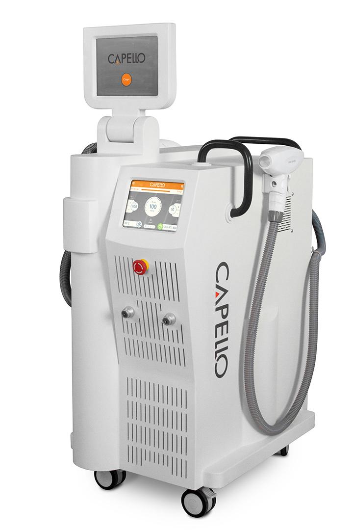Комбайн, включающий функции терапевтических лазерных аппаратов Capello GrandeLUXE
