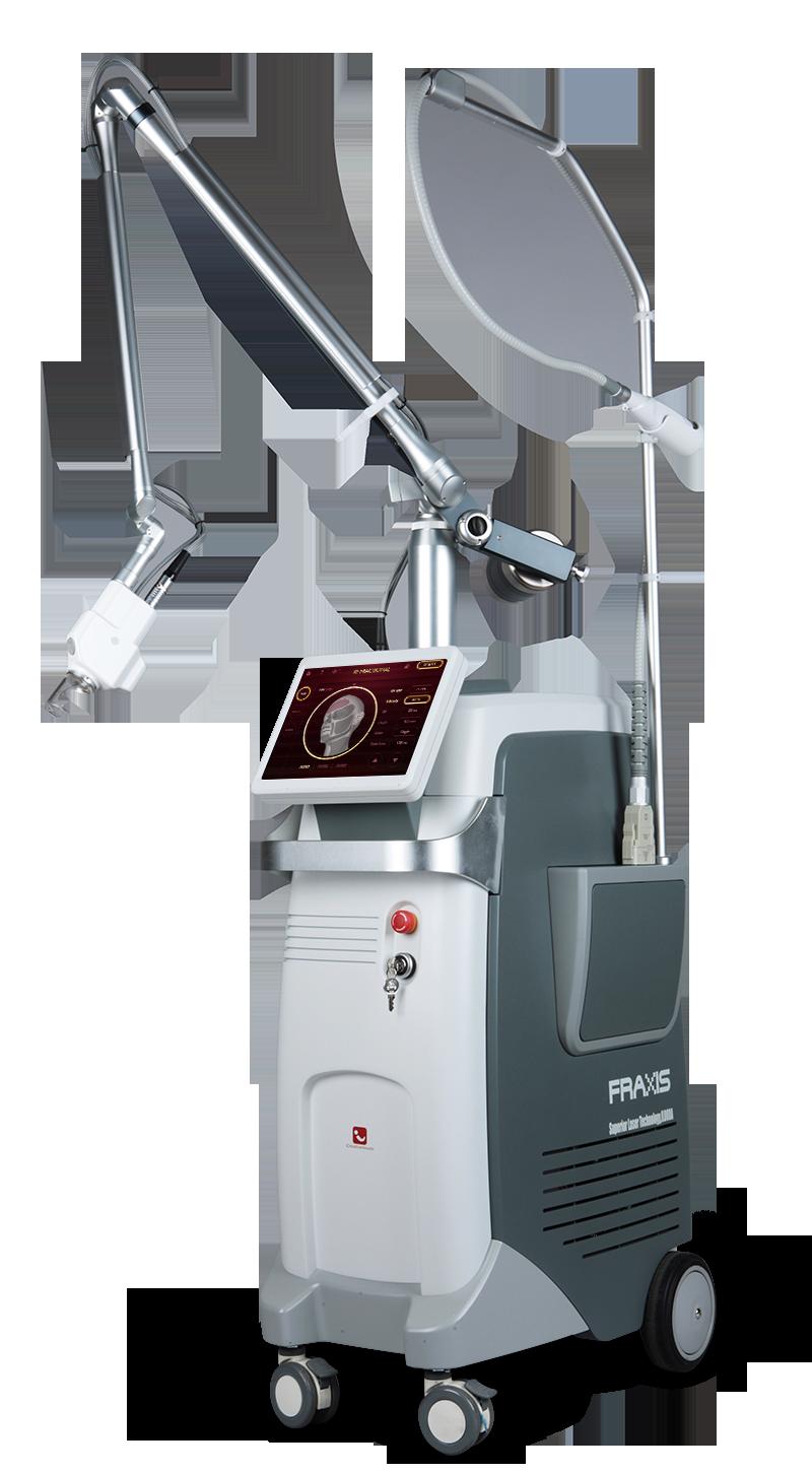 FRAXIS DUO лазер СО² и фракционный RF